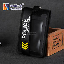 Police Air Marshal Lanyard with ID Case Holder  for Flight Airport Crew
