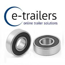 6202RS Trailer Hub Sealed High Speed Bearing - 15 x 35 x 11mm ERDE DAXARA x 2