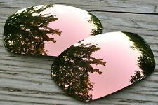 Copper Peach Mirrored  Custom Replacement Sunglass Lenses for Oakley Jawbone