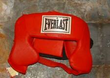 Everlast boxing sparring MMA headgear   adult  red