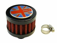 9MM UK R53 RACING MINI AIR OIL BREATHER FILTER FOR MINI COOPER - RED