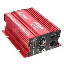Hi-Fi Amplificateur Audio Stéréo 2-Canal Haut-Parleur Booster Amplifier Voiture