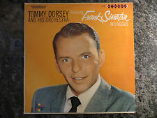 Tommy Dorsey Featuring Frank Sinatra In 5 Vocals Lp ~ Spin o Rama VG+ to VG++