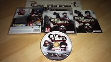 PLAY STATION 3 PS3 DEAD TO RIGHTS RETRIBUTION COMPLETO PAL ESPAÑA