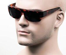 Super Dark Lenses Cholo Sunglasses LOC Lowrider OG Gangster Style NL40 Brown