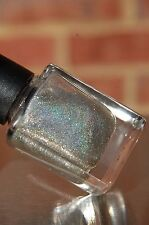 Silver Small Flakes/Flakie Holographic Spectraflair Topcoat Polish 13.3ml