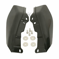 Black Mid-Frame Air Deflectors For Harley Touring Road King Tri Glide 2009-2016