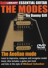 LICK LIBRARY The AEOLIAN MODES Learn to Play Michael Schenker Soloing GUITAR DVD
