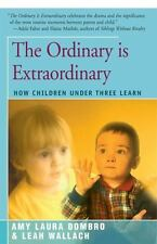 The Ordinary Is Extraordinary: How Children Under Three Learn