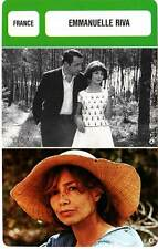 FICHE CINEMA :  EMMANUELLE RIVA -  France (Biographie/Filmographie)
