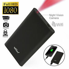 Mini 1080P WIFI HD Hidden Spy Camera Power Bank DVR Video Recorder Wireless Cam