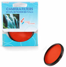 Camera 72mm Full Orange COLOR Filter Lens Sunset Effect M72 For Canon Nikon Sony