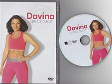 Davina The Ultimate Target Workout (DVD, 2011)