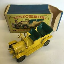 Matchbox Y-16 1904 Spyker Boxed Yesteryear