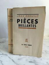 Jean Anouilh Pièces brillantes La table ronde 1951
