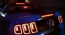 Mustang Wind Screen deflector 2011-2014 lighted etched pony emblem logo
