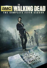 The Walking Dead: The Complete Fifth Season (Blu-ray Disc, 2015, 5-Disc Set,...
