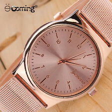 Fashion Geneva Full Stainless Steel Quartz Women Watch Watch Watch for Men #1
