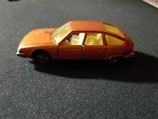 1970's MAJORETTE No 265 Citroen CX Made in France Vintage RARE GOLD !!!!
