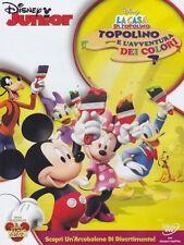 La Casa Di Topolino - Topolino E L'Avventura Dei Colori DVD PER BAMBINI NUOVO