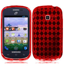 TPU Crystal Skin Cover Case for Samsung Galaxy Discover SCH-R740C R740C Phone