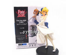 Free Shipping Anime Fate Stay Night Wedding Saber Toy Figure Doll New in Box