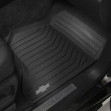 23452760 All Weather Black Front Floor Mats fits 2015-2017 Tahoe or Suburban