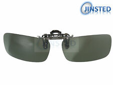 High Quality Flip Up Clip On Polarised Sunglasses Green Clip-On Clip-Up ACP028