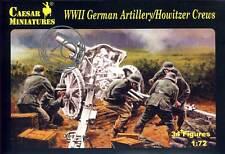 Caesar Deutsche Artilleriebesatzung German Artillery Howitzer Crew 1:72 Haubitze