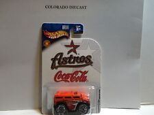 Hot Wheels Coca Cola Houston Astros Red Hummer H2 w/Bling Wheels