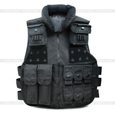 Tactical Vest SWAT Police Velcro Ammo Military Airsoft Hunting Combat Carrier