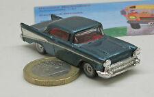 PKW 0302:   Chevrolet  Bel Air  `57,    blau  met