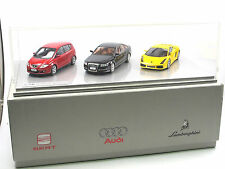 LookSmart audi brand Group set 2008 SEAT Altea audi a6 Lamborghini Gallardo 1/43