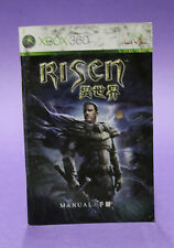 INSTRUCTION BOOKLET/MANUAL ONLY FOR RISEN XBOX 360 (NO GAME) ☆OZ SELLER☆ !!!