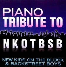 PIANO TRIBUTE TO NEW KIDS O...-Piano Tribute To New Kids On T CD NEW