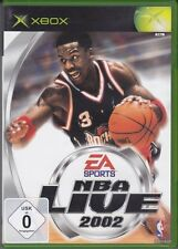 NBA Live 2002  (XBox) In Box, mit Anleitung
