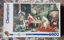 Clementoni 6000 piece puzzle 'Allegory of Sight and Smell', Jan Brueghel - Rare!