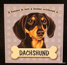 Dachshund Red Magnet Dog Car RV A House Is Not A Home Puppy Refrigerator