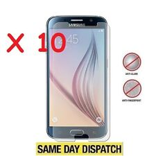 10 X Samsung Galaxy S6 SM-G920F Anti-Glare Matte Screen Protectors Film Cover