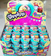 "Shopkins ""2-Pack Shopping Basket"" SEASON 3 Rare, Ultra Rare, Limited Edition NEW"