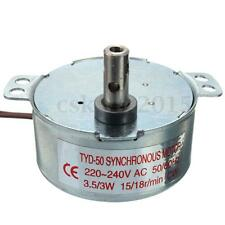 Turntable Synchronous TYC-50 Motor Rotating 15/18r/min AC 220-240V 3.5/3W CW