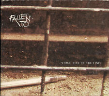 Fallen To Which Side Of The Line 2 ×CD EPin quadfold digipack UK CD