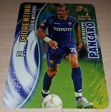 CARD CALCIATORI PANINI 2005-06 FIORENTINA PANCARO CALCIO FOOTBALL SOCCER ALBUM