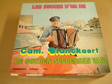 ACCORDEON LP WITH CAR COVER / DE GOUDEN SUCCESSEN VAN CAM. BLANCKAERT