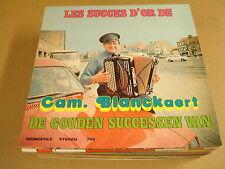 ACCORDEON LP WITH CAR COVER / DE GOUDEN SUCCESSEN VAN CAM. BLANCKAERT