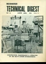 Budocks Technical Digest US Navy newsletter March-April 1951 TD-9 photos