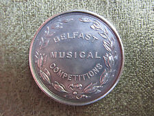 Belfast Musical Competitions -- Silver Medal -- 1927 -- Sharman D Neill