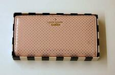 PWRU 4559 KATE SPADE STACY LILAC STREET DOT PINK CLUTCH WALLET - $128 RETAIL