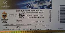 mint VIP TICKET UEFA CL 2013/14 ZSKA Moskau Moskva - Bayern München