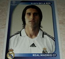FIGURINA CALCIATORI PANINI CHAMPIONS 2008/09 REAL MADRID DE LA RED ALBUM